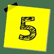Lerntipps und Lernstrategien, um den Fünfer im Zeugnis zu verhindern.
